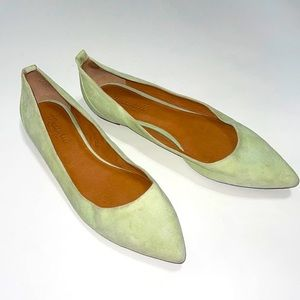 Madewell Mint Green Flat Shoes Size 9